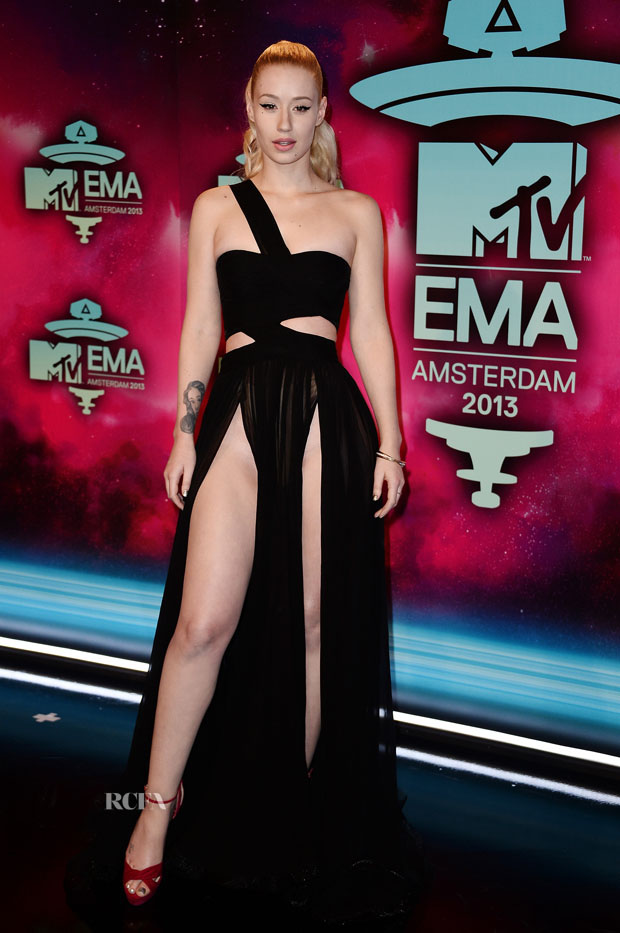 Iggy Azalea in Dilek Hanif Couture