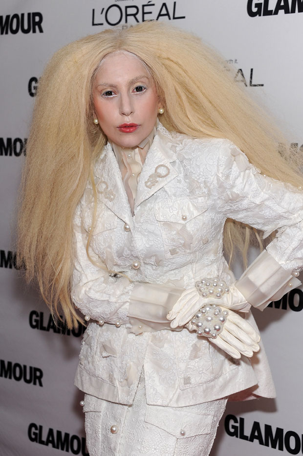 Lady Gaga in Thom Browne