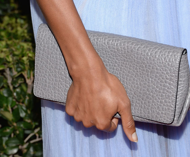 Naomie Harris' Burberry Prorsum clutch