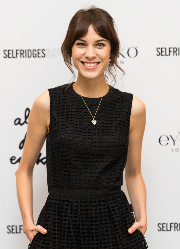 Alexa Chung in Carven