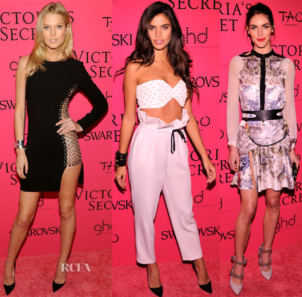 2013 Victoria's Secret Fashion Show Models Red Carpet Roundup 2