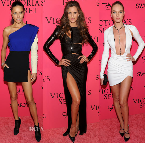 2013 Victoria's Secret Fashion Show Models Red Carpet Roundup 3