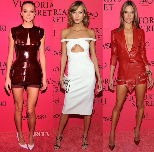 2013 Victoria's Secret Fashion Show Models Red Carpet Roundup