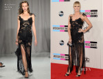 Heidi Klum In Marchesa - 2013 American Music Awards