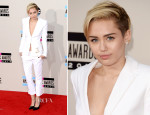 Miley Cyrus In Versus Versace - 2013 American Music Awards