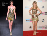 Taylor Swift In Julien Macdonald - 2013 American Music Awards