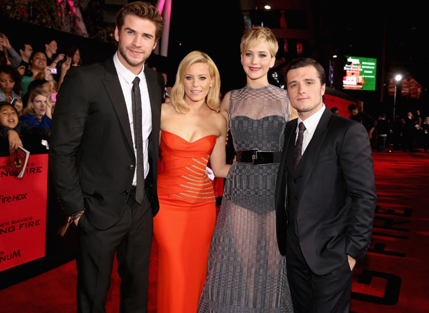"Premiere Of Lionsgate's ""The Hunger Games: Catching Fire"" - Red Carpet"