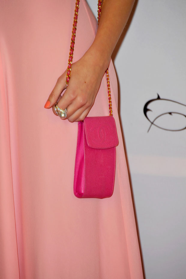 Pixie Lott's Chanel bag