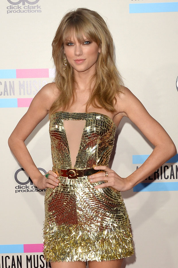 Taylor Swift in Julien Macdonald