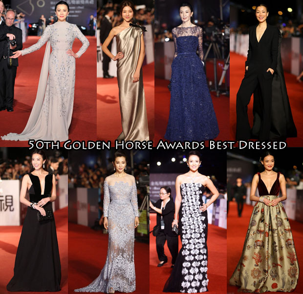 50th Golden Horse Awards Best Dressed