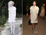 Alexa Chung In Chanel Couture - MoMA Benefit: A Tribute to Tilda Swinton