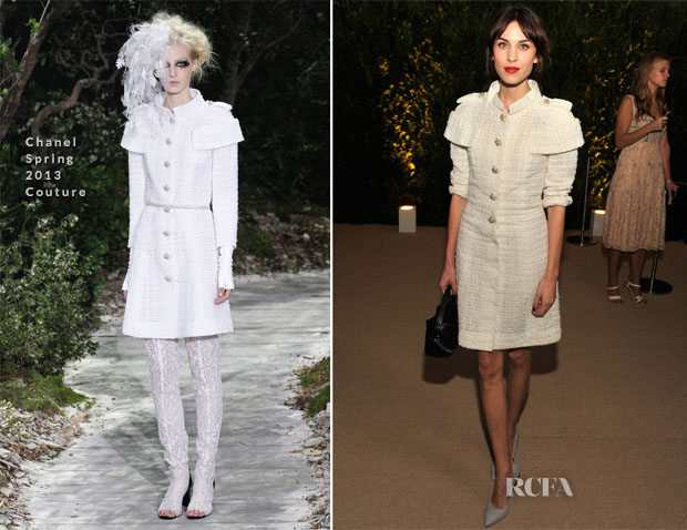 Alexa Chung In Chanel Couture - MoMA Benefit A Tribute to Tilda Swinton