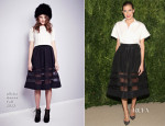 Allison Williams In Misha Nonoo - CFDA/Vogue 2013 Fashion Fund Finalists