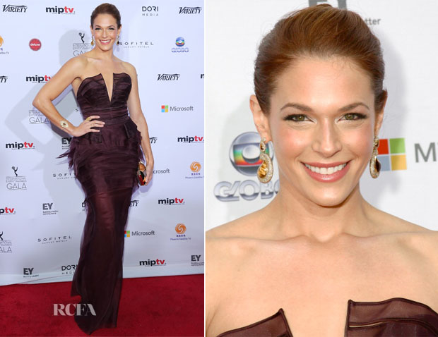 Amanda Righetti In Ermanno Scervino - 41st International Emmy Awards