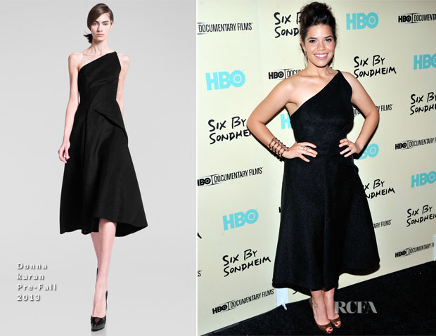America Ferrera In Donna Karan - 'Six by Sondheim' HBO New York Premiere