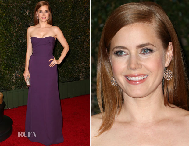 Amy Adams In Vivienne Westwood - Governors Awards 2013