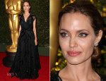 Angelina Jolie In Atelier Versace - Governors Awards 2013