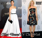 Best Dressed of The Week - Natalie Portman In Christian Dior Couture & Diane Kruger In Chanel Couture