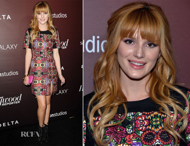 Bella Thorne In Rebecca Minkoff - The Hollywood Reporter's Next Gen 20th Anniversary Gala