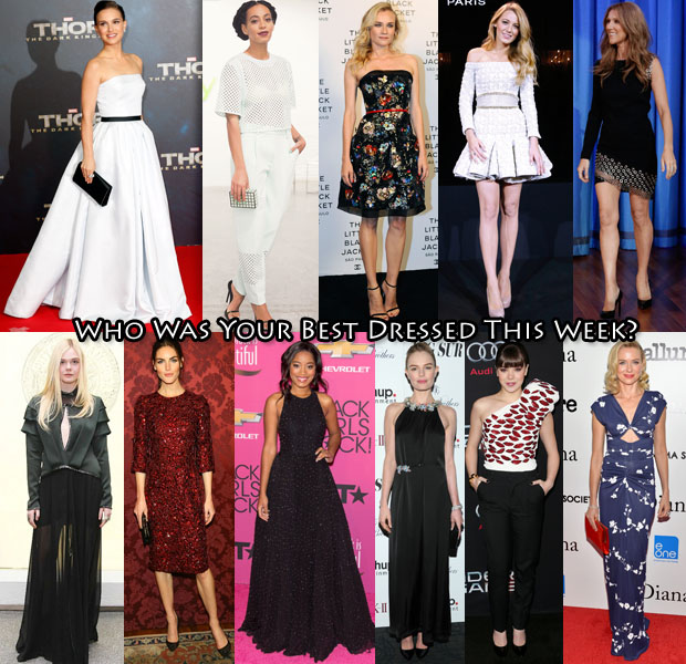 Best Dressed Of The Week 1 Nov