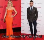 Best Dressed Of The Week - Elizabeth Banks In Versace & David Gandy