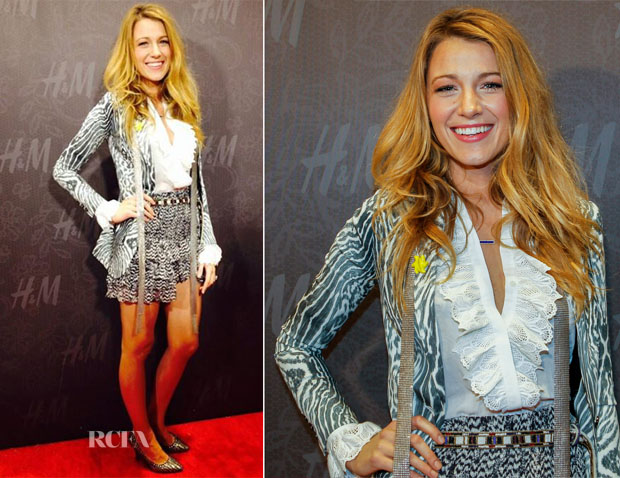 Blake Lively In Isabel Marant pour H&M - H&M New Orleans Opening