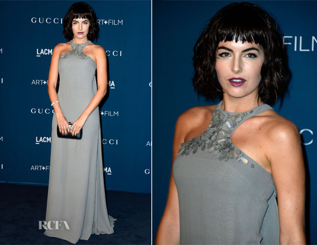 Camila Belle In Gucci - LACMA Art + Film Gala 2013