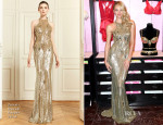 Candice Swanepoel In Zuhair Murad - Victoria's Secret 'The Royal Fantasy Bra' Photocall