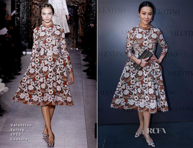 Carina Lau In Valentino Couture - Valentino Fashion Show & Store Opening 2