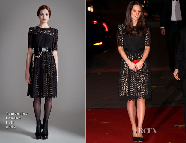 Catherine, Duchess of Cambridge In Temperley London - SportsBall