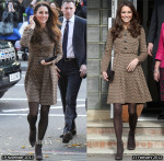 Catherine, Duchess of Cambridge In Orla Kiely - Only Connect Visit