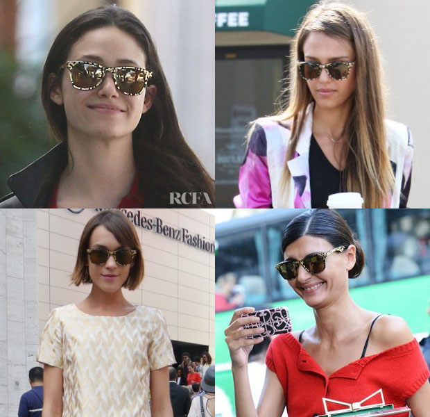 Celebrities, Bloggers & Fashion Editors Love Carrera by Jimmy Choo Sunglasses