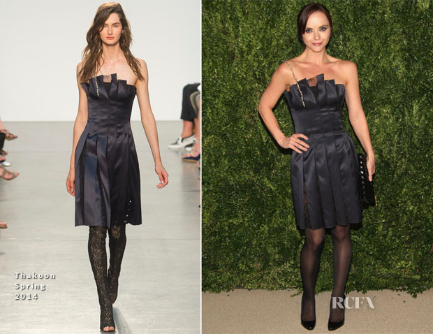 Christina Ricci In Thakoon - CFDA Vogue 2013 Fashion Fund Finalists