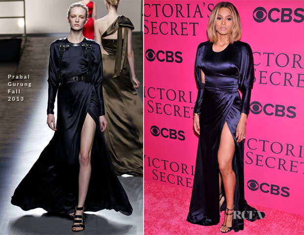 Ciara In Prabal Gurung - 2013 Victoria's Secret Fashion Show