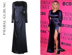 Ciara's Prabal Gurung Long Backless Gown