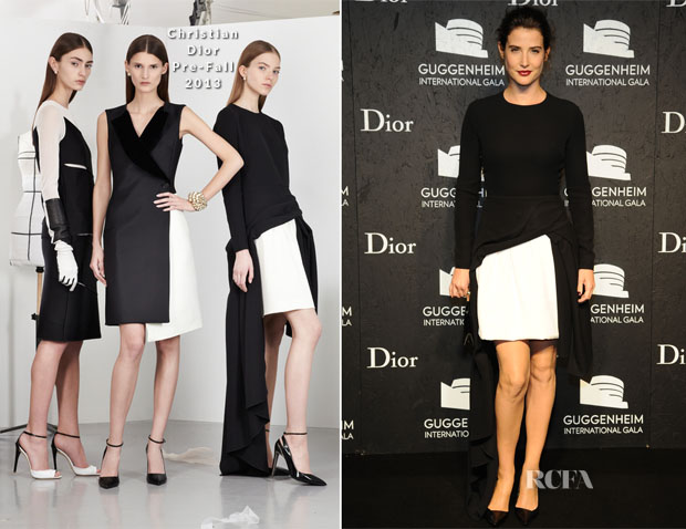 Cobie Smulders In Christian Dior - Guggenheim International Gala