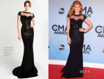Connie Britton In Georges Hobeika - 2013 CMA Awards