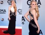 Danielle Bradbery In BCBG Max Azria - 2013 CMA Awards