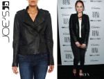 Debby Ryan's Joe's Moto Leather Jacket