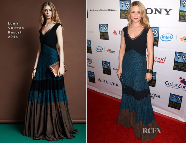 Dianna Argon in Louis Vuitton - Napa Valley Film Festival Celebrity Tribute