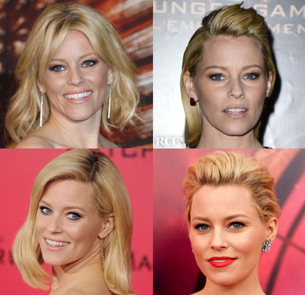Elizabeth Banks' 'Catching Fire' Promo Tour Beauty Looks