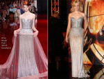 Elizabeth Banks In Elie Saab Couture - 'The Hunger Games: Catching Fire' Berlin Premiere