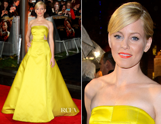 Elizabeth Banks In Jason Wu - 2013 London Hunger Games Premiere
