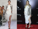 Elizabeth Olsen In Altuzarra - 'Oldboy' New York Screening