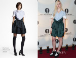 Elle Fanning In Carven - The Academy Nicholl Fellowships In Screenwriting Awards