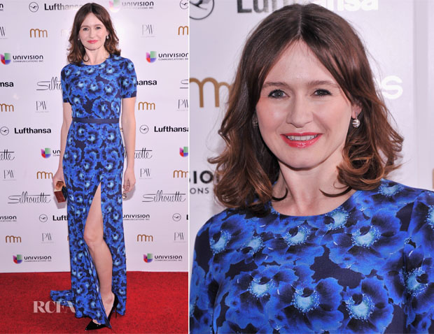 Emily Mortimer In Peter Som - PowerWomen 2013 Awards