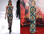 Emily Osment In Mara Hoffman - 'The Hunger Games: Catching Fire' LA Premiere