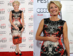 Emma Thompson In Roberto Cavalli -  'Saving Mr. Banks' AFI FEST Premiere