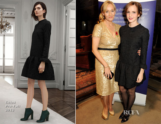 Emma Watson In Chloé - Lumos Fundraising Event