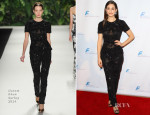 Emmy Rossum In Naeem Khan - Saban Community Clinic's 37th Annual Benefit Gala